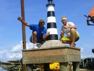 Cocoa Beach community donates money for lighthouse