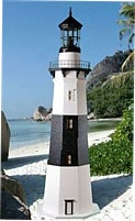 Amazing Replica Lawn Lighthouses For Sale Solar Or
