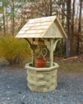 6 ft. Wooden Wishing Well