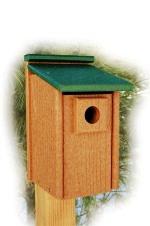 polywood bluebird house trex like material