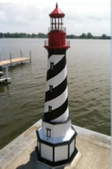 lighthouse on the dock