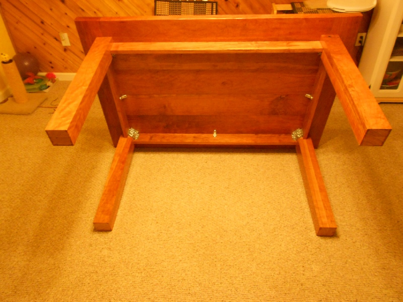 Good How I Attached The Table Legs And Table Top