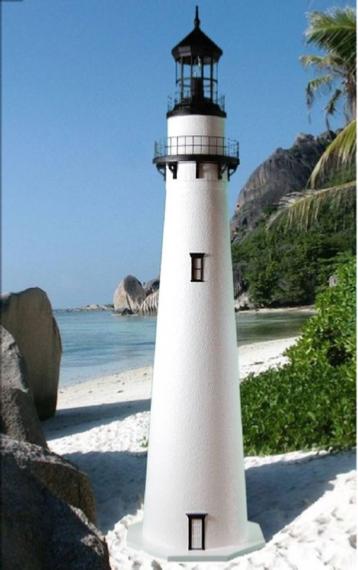 Fenwick Deluxe Lawn Lighthouse