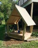 Sandbox Plans. How to Build a Covered Sandbox.