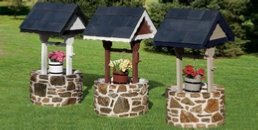 Amazing Wishing Wells - Polywood and Stone Bases
