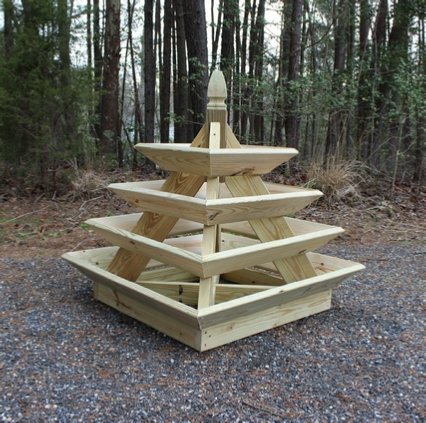 Pyramid Garden Planter