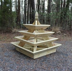 How To Build A Pyramid Strawberry Planter Diy Plans