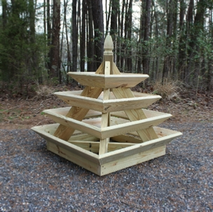 Pyramind Planter Plans