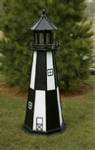 Wooden Amish Lawn Lighthouses 2 ft. to 12 ft. Tall