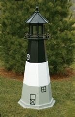 Wooden Amish Lawn Lighthouses Oak Island
