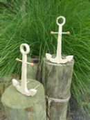 How to make a nautical anchor centerpiece