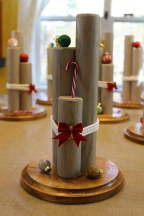 Christmas theme centerpiece