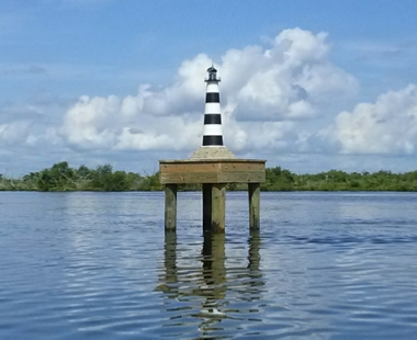 Coca Beach Lighthouse