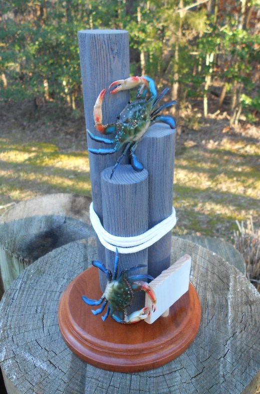 Handcrafted nautical wedding centerpieces personalized beach theme nautical pilings with buoys junglespirit Image collections