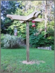how to build a Deluxe Bird Feeding Station for Your Birdfeeders
