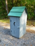 woodworking plans for an ornamental outhouse