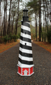 Plans for a Cape Hatteras Lawn Lighthouse. DIY Wood Plans.