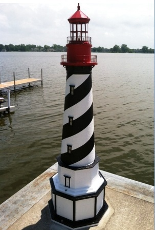 how to build a lighthouse for the yard