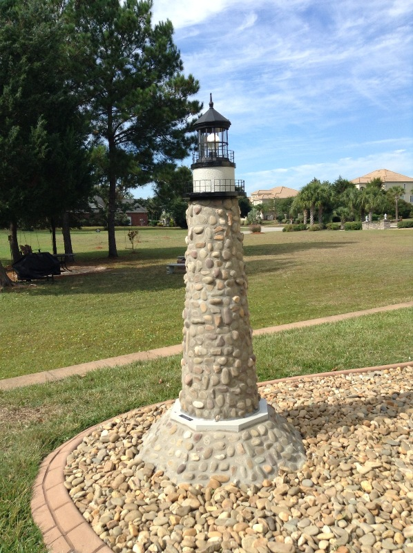 Lighthouse Natural Stone : Ajo working homemade wood mailbox