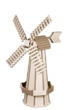 Ivory and weatherwood windmill
