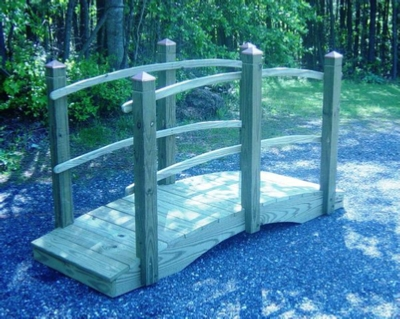 Lawn bridge I built