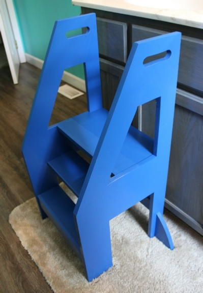 How To Build A Step Stool For Your Toddler Diy