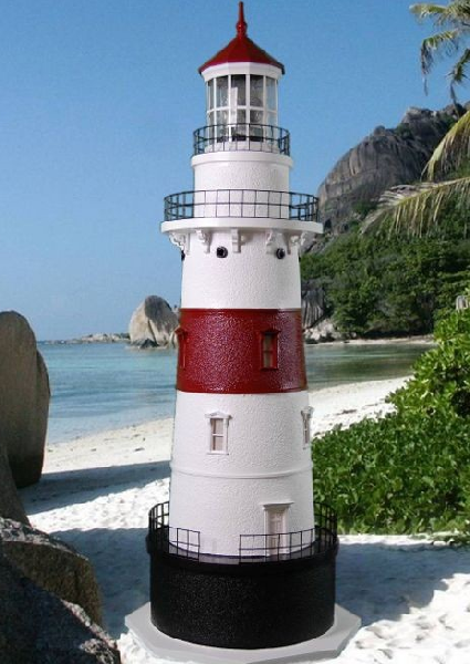 Latimer Reef Lawn Lighthouse With Working Lights