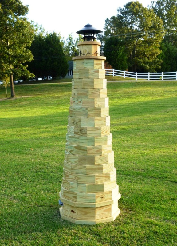 how to make a working lighthouse