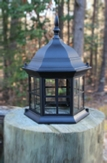 Lighthouse Replacement Top. Metal with Removable Roof. Chesapeakecrafts.
