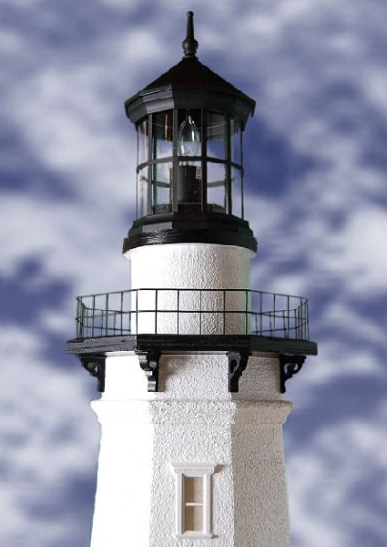 Montauk Lawn Lighthouse With Working Lights