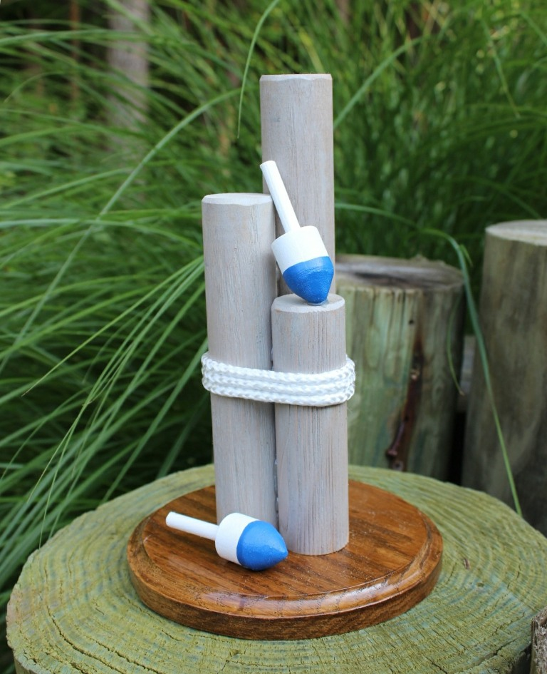 Handcrafted Nautical Wedding Centerpieces Personalized