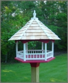 Woodworking plans for a gazebo bird feeder