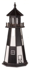 Polywood Lawn Lighthouses with working lights