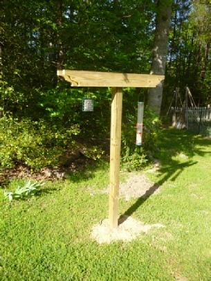 How To Build A Bird Feeding Station