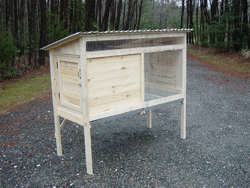 how to build a rabbit hutch and run step-by-step