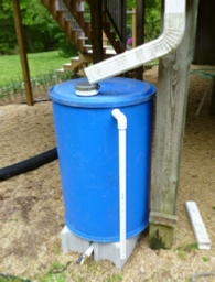 I made a rain barrel from a 55 gallon drum. Here's how.