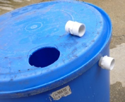 fittings for rain barrel