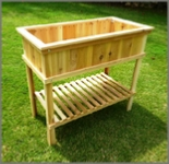 woodworking plans for a raised planter