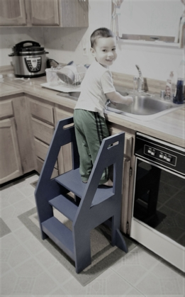 How To Build A Kitchen Helper Stool
