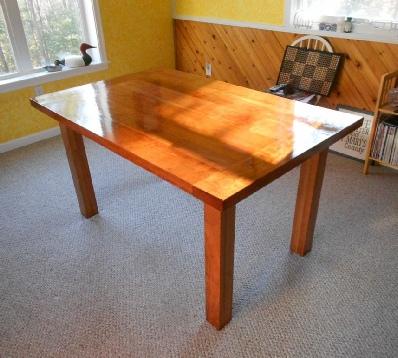Hardwood Cherry Farm Table