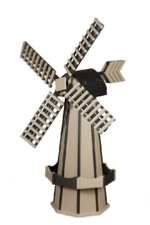 Clay and black windmill