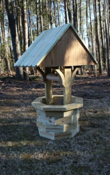 4 ft. wooden wishing well plans