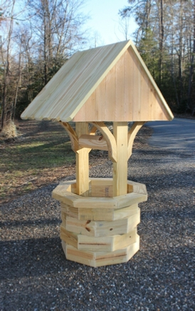How To Build A 4 Ft Wooden Wishing Well Wood Plans With