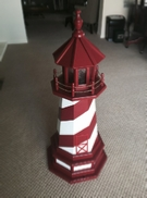 photo of wooden lighthouse 3 ft.